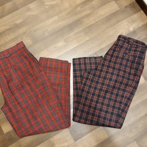 Set of Vintage Giorgio Sant Angelo Wool Trousers